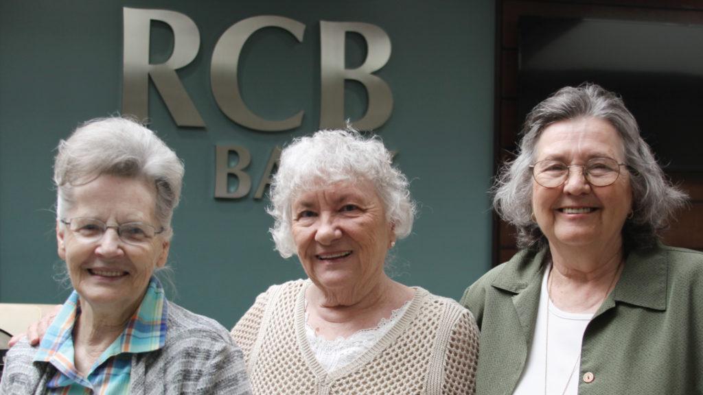 Group of ladies smiling